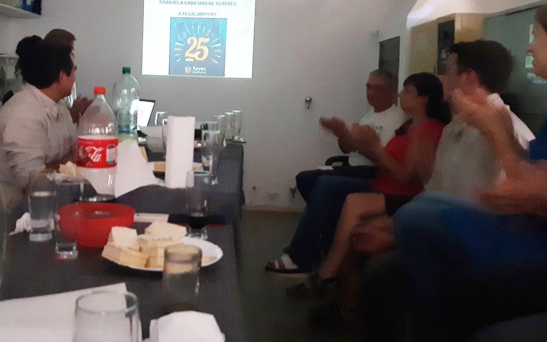 Reunión de Fin de año 2019 Rayen Laboratorios SRL