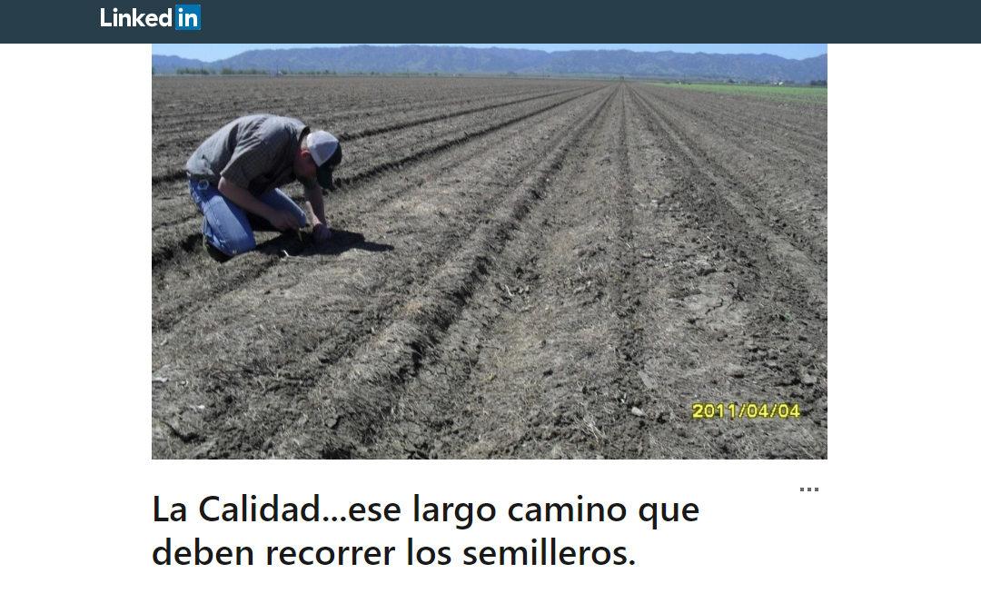 """""""La Calidad"""", por el Ing. Agr. y Consultor Alberto Kabat"""