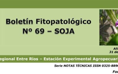 Boletín Fitopatológico Nº 69 de Soja – EEA Paraná