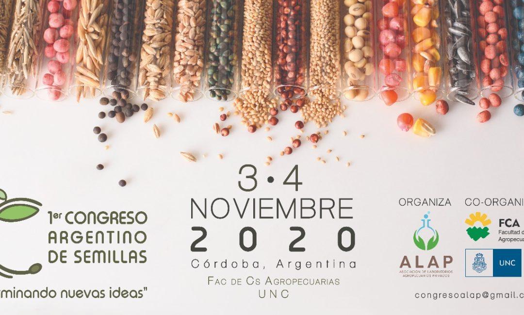 «1º Congreso Argentino de Semillas» Noviembre 2020