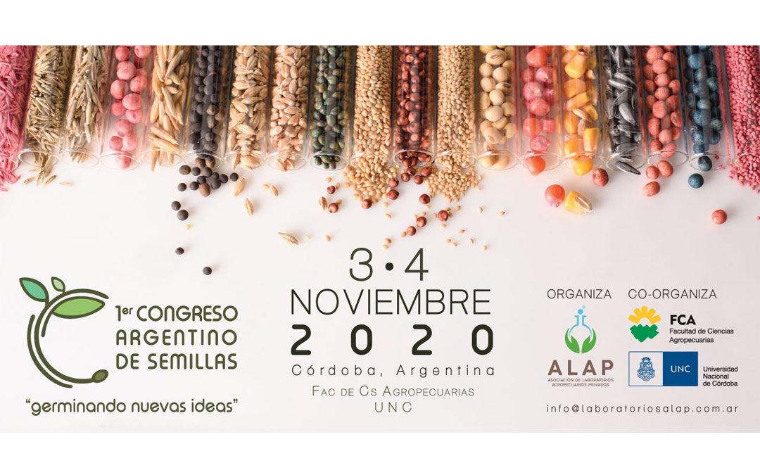 """1º Congreso Argentino de Semillas"" Noviembre 2020"
