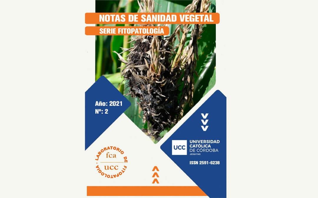 «Notas de Sanidad Vegetal Nº 2, Año 2021»